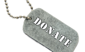 Donate Dog tag